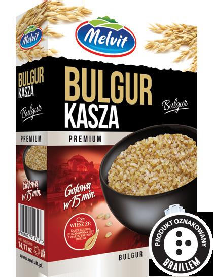 Kasza Bulgur 4 X 100 G Melvit S A