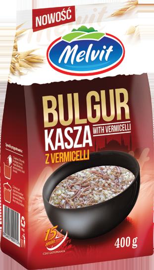 Kasza Bulgur Z Vermicelli 400 G Melvit S A