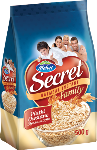 Instant oat flakes Secret Family 500 g