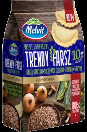 Trendy Farsz kasza gryczana, soczewica zielona, cukinia, grzyby