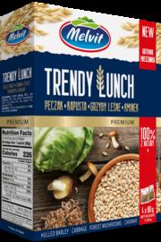 Trendy Lunch pęczak, kapusta, grzyby, kminek