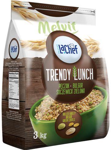 Trendy Lunch pęczak, bulgur, soczewica zielona