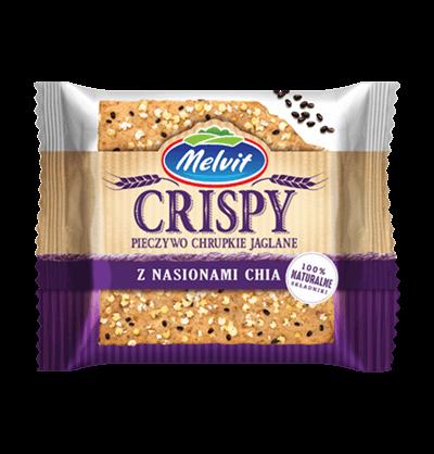 Crispy Jaglany z nasionami Chia