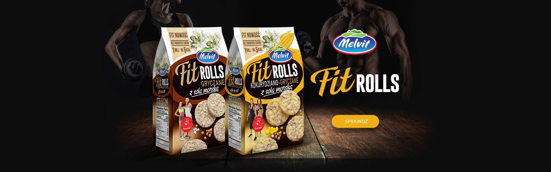 Melvit Fit Rolls
