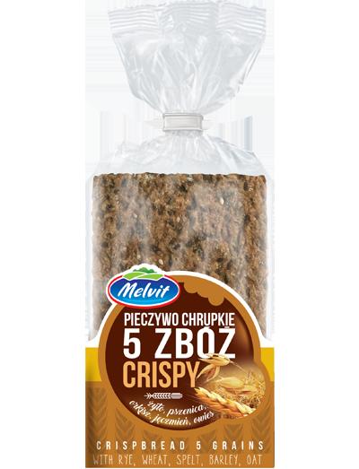 Pieczywo chrupkie Crispy 5 zbóż
