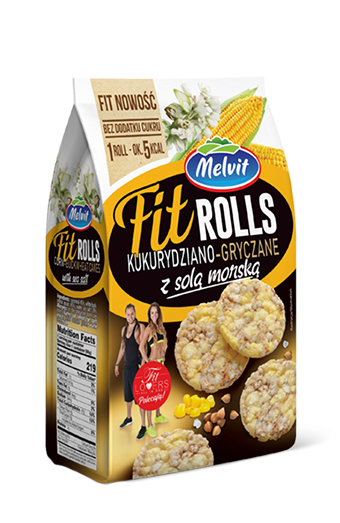 FitRolls kukurydziano-gryczane
