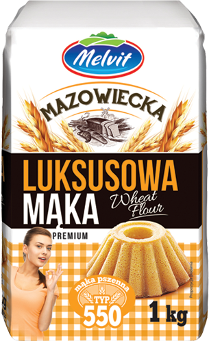 Mąka mazowiecka luksusowa typ 550