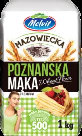 Mąka mazowiecka poznańska typ 500