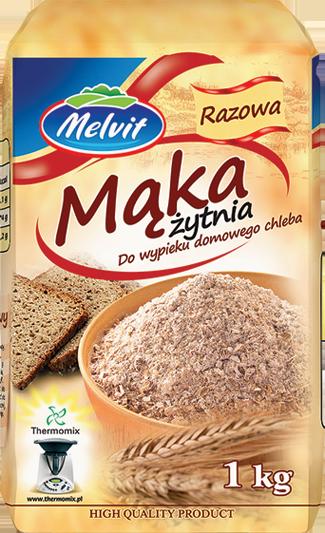 Mąka żytnia razowa typ 2000 1 kg