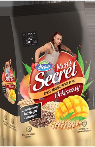 Men's Secret Orkiszowy z nasionami konopi i mango