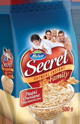 Secret Family Płatki owsiane błyskawiczne