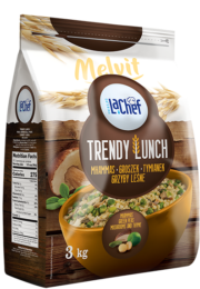 Trendy Lunch mhammas, groszek, tymianek, grzyby leśne